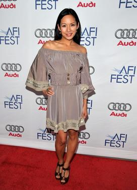 Steph Song at the 2008 AFI FEST.